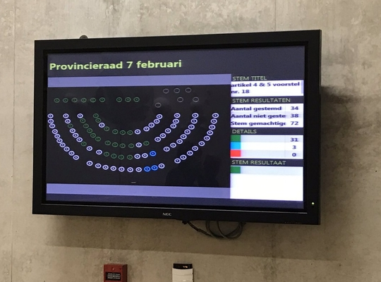 Provincieraad Vlaams-Brabant van 7 februari 2017