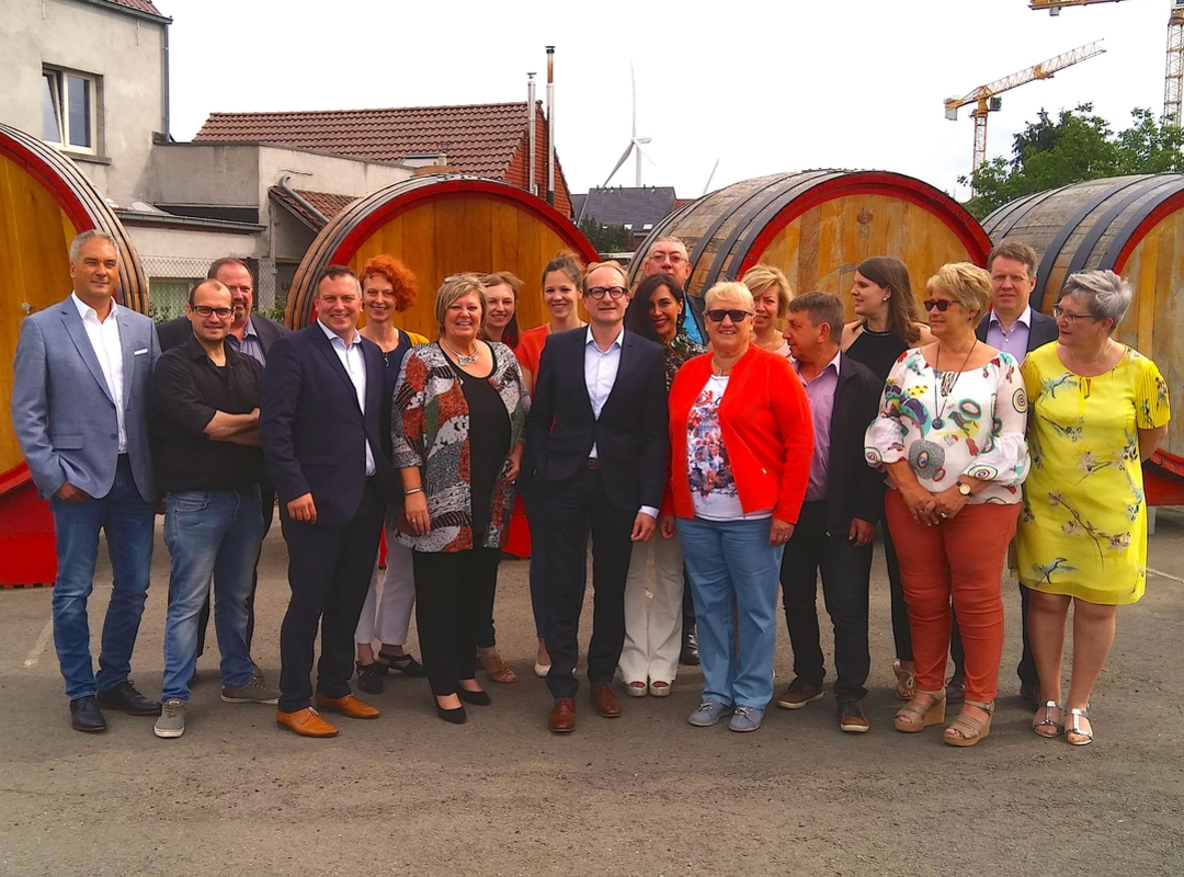 Groepsfoto provincieraadskandidaten 2018 N-VA Halle-Vilvoorde