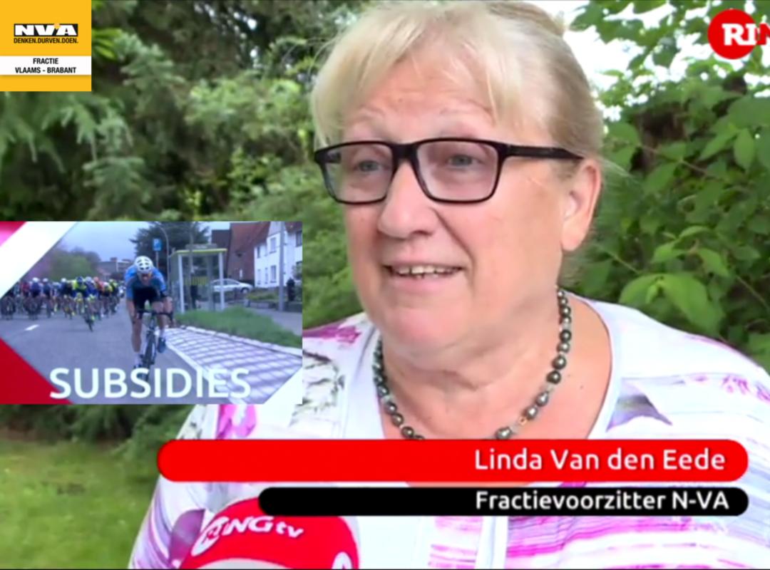 foto: Linda Van den Eede, fractievoorzitter N-VA provincie Vlaams-Brabant